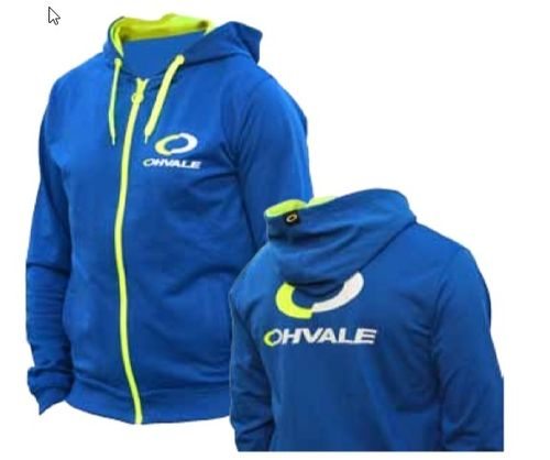 OHVALE Fleece Jacke Blau / Fleece Jacket blue
