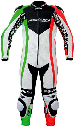 REWIN New PreGP Kinder Lederkombi / One Piece Junior Leather Suit